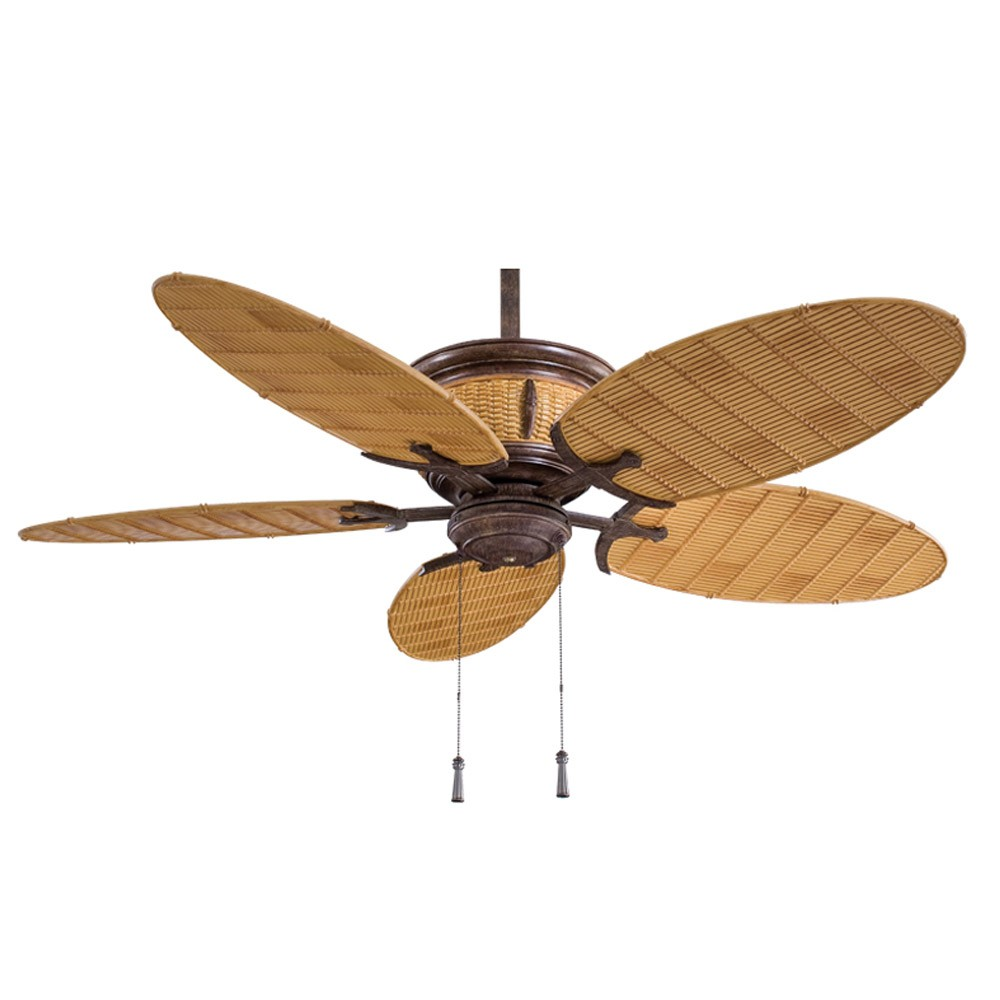 Ceiling Fans With Light: Shangri-La Ceiling Fan F580-VR/BB