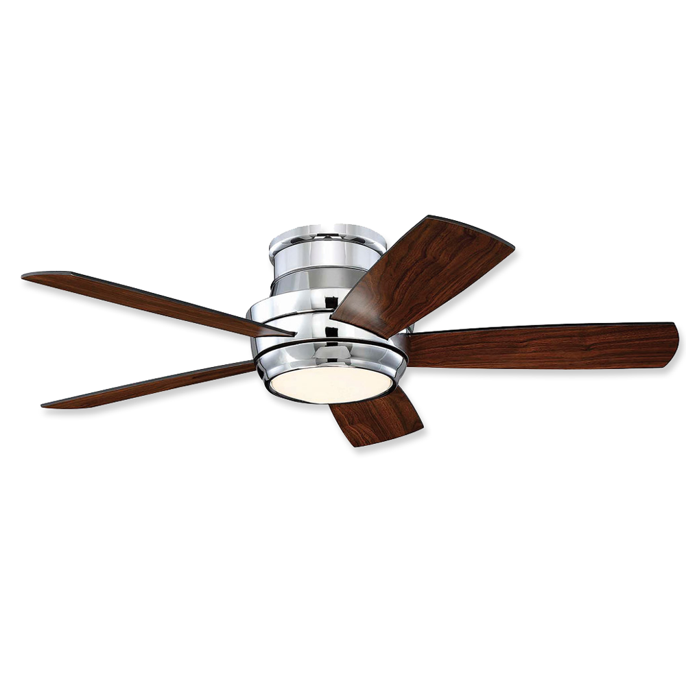 Craftmade Tempo Hugger Low Profile Tmph44ch5 44 Led Ceiling Fan
