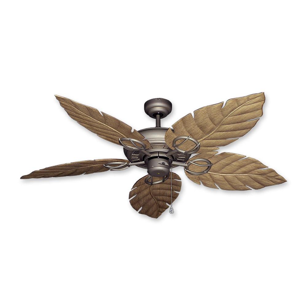 Bronze Havana Abs Blade Tropical Indoor Outdoor Ceiling: Gulf Coast Fans Trinidad Ceiling Fan In Antique Bronze W