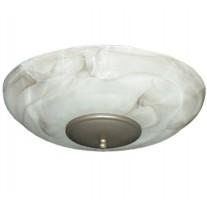 FL171 Mocha Swirl Ceiling Fan Light Kit - 8 Finial Finish Options