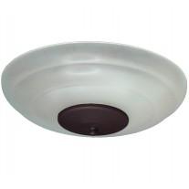 FL171 White Scavo Ceiling Fan Light Kit - 8 Finial Finish Options