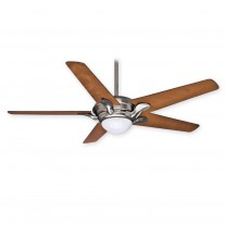 "Bel Air Ceiling Fan by Casablanca 59076 - Brushed Nickel 56"" Fan With Light Included"
