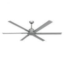 "72"" Titan II by TroposAir - Large Industrial Ceiling Fan - Brushed Nickel"
