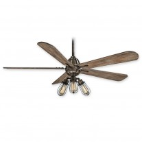 "Minka Aire Alva 56"" Ceiing Fan F852L-HBZ - Heirloom Bronze"