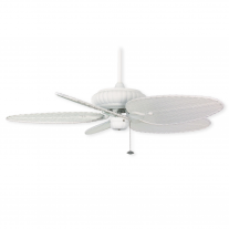 "52"" Fanimation Belleria Ceiling Fan - FP4320MW1 - Matte White - 3 Blade Choices"