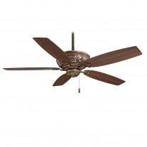 Classica 54 Inch Ceiling Fan by Minka Aire Fans - F659-BCW Belcaro Walnut Finish