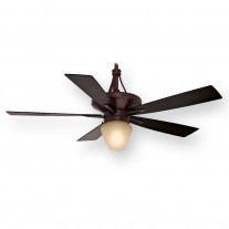 "Casablanca C42G546L, 60"" Colorado Brushed Cocoa Ceiling Fan w/ Light"