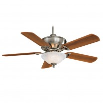"52"" Bolo Ceiling Fan with Light F620-BN by Minka Aire Fans - Brushed Nickel"