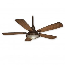 "56"" Groton Ceiling Fan - Minka Aire F681-ORB Wet Rated - Oil Rubbed Bronze Finish"