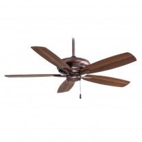 "Kola 52"" Ceiling Fan F688-DBB by Minka Aire Fans - Dark Brushed Bronze Finish"