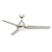 """54"""" Minka Aire Java LED Ceiling Fan F753L-PN - Polished Nickel w/ Light"""
