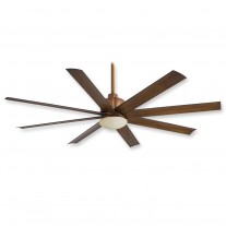 "65"" Minka Aire Slipstream Ceiling Fan - F888-DK Distressed Koa - UL Wet Rated"