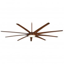 "99"" Ninety-Nine Ceiling Fan by MInka Aire - F899L-DK - Efficient DC Motor w/ LED Lighting"