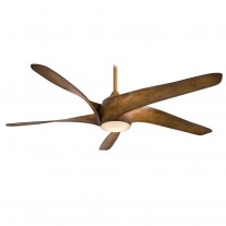Artemis XL5 F905-DK Distressed Koa 62 Inch Minka Aire Ceiling Fan w/ Integrated Light