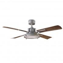 "Modern Forms 56"" Nautilus Ceiling Fan | FR-W1818-56L-GH/WG | Graphite w/ Weathered Gray"