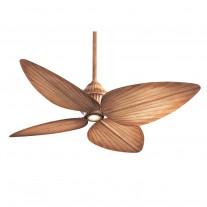 "52"" Minka Aire Gauguin Tropical Ceiling Fan - Bahama Beige - F581-BG"
