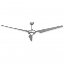"76"" TroposAir Ion Indoor/Outdoor Ceiling Fan - Brushed Nickel - High Performance DC Motor"