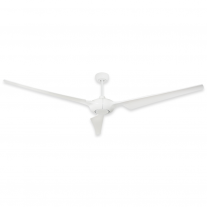 """76"""" TroposAir Ion Indoor/Outdoor Ceiling Fan - Pure White - High Performance DC Motor"""