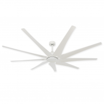 "82"" Liberator Ceiling Fan by TroposAir - Our Most Powerful Model - Pure White"