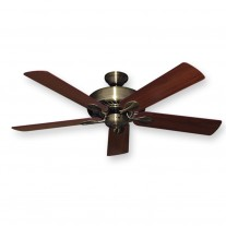 "52"" Meridian Ceiling Fan Antique Brass w/ Multiple Blade Finish Options"