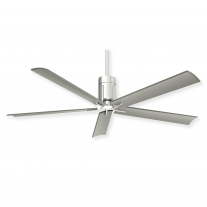 "60"" Minka Aire Clean Ceiling Fan - F684L-PN - DC Motor - Polished Nickel Finish"