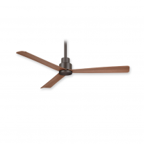 "44"" Minka Aire F786-ORB Simple Indoor/Outdoor Ceiling Fan w/ Remote - Oil Rubbed Bronze"