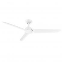 "62"" Modern Forms Roboto Ceiling Fan - FR-W1910-62-MW - Modern 3 Blade Design in Matte White"