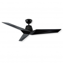 "Modern Forms 60"" Vortex Ceiling Fan - Gloss Black - Model FR-W1810-60-GB"