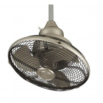 Fanimation Extraordinaire Oscillating Ceiling Fan - OF110SN - Satin Nickel
