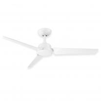"52"" Modern Forms Roboto Ceiling Fan - FR-W1910-52-MW - Modern 3 Blade Design in Matte White"