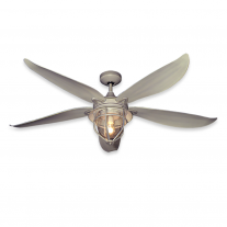 "59"" TropoaAir St. Augustine Ceiling Fan w/ LED Light - Driftwood Finish"