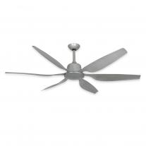 "66"" TroposAir Titan II Indoor/Outdoor Ceiling Fan - DC Motor -  Brushed Nickel"