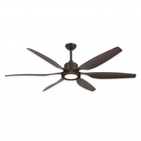 "66"" TroposAir Titan II Indoor/Outdoor Ceiling Fan - High Performance DC Motor -  Oil Rubbed Bronze"