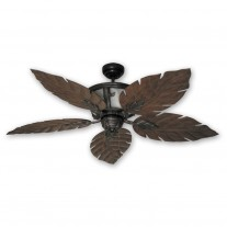 "52"" Venetian Ceiling Fan - Oil Rubbed Bronze Tropical Ceiling Fan"