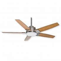 "Casablanca 59109 - 56"" Zudio Ceiling Fan - Brushed Nickel w/ LED Fan Light"