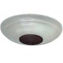 FL171 White Scavo (shown with Oil Rubbed Bronze bottom)