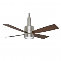Casablanca Bullet Ceiling Fan - Brushed Nickel