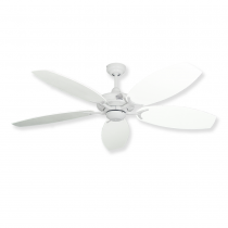 Coastal Classic Ceiling Fan - Pure White