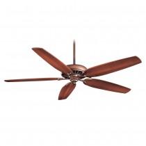 Minka Aire Great Room Traditional Ceiling Fan - Belcaro Walnut w/ Dark Walnut Blades