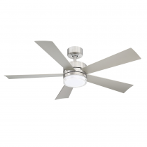 "52"" Wynd Ceiling Fan - Modern Forms FR-W1801-52L-SS - Stainless Steel"