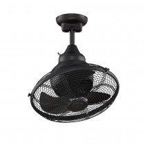 Extraordinaire Oscillating Ceiling Fan by Fanimation - OF110BL - Black