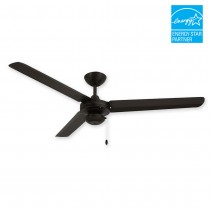 "56"" Tornado Ceiling Fan - Oil Rubbed Bronze Outdoor Fan by TroposAir"