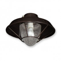 FL155 Lantern Style Fan Light - Oil Rubbed Bronze