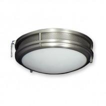 FL164SS Low Profile Fan Light Kit - Satin Steel