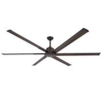 "84"" Titan II by TroposAir - Large Industrial Ceiling Fan - Oil Rubbed Bronze"