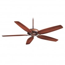 Minka Aire Great Room Traditional Ceiling Fan - Belcaro Walnut w/ Dark Walnut Blades