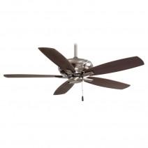 Minka Aire Kola Ceiling Fan F688-PW w/ Dark Maple Blades