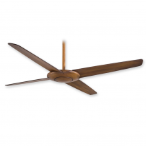 Minka Aire Pancake Ceiling Fan F738-DK - Distressed Koa Finish