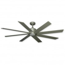 Northstar Ceiling Fan by TroposAir Fans - Brushed Nickel