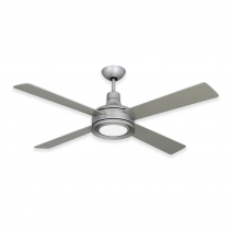 Quantum II Ceiling Fan by TroposAir - shown with optional LED Light (sold separately)